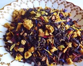 Brambleberry Tea Blend, Hand Blended Tea, Flavored Black Tea, Autumn Tea, Loose Leaf Tea, Black Tea
