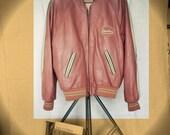 Vintage Leather Redskins Jacket