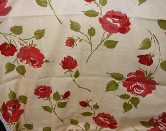 Moda Urban Cowgirl Roses Fabric