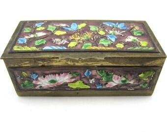 Vintage Chinese Enamel Box