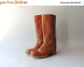 STOREWIDE SALE Vintage Frye Boots / 1980s Frye Campus Boots / Leather Frye Riding Boots