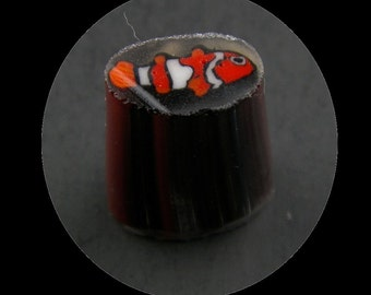 Clownfish by Greg Chase Murrine Boro Cane 10 grams - 146 D