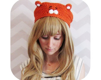 INSTANT DOWNLOAD - himouto umaru chan anime inspired hamster slouchy beret - PDF crochet pattern