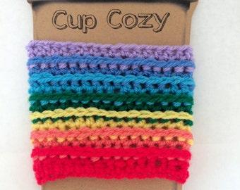 Rainbow Chakra Cup Cozy