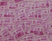 50 3 Cent Armed Forces Reserve Stamps Lot Purple Scott 1067 Used  1955
