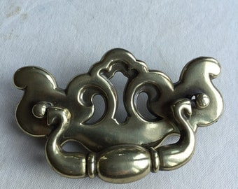 Vintage Brass Pull or Handle