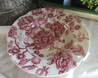 Johnson Brothers English Chippendale Rimmed Soup Bowl