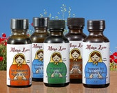 Flower Essence Aromatherapy Gift Set, Oils or Sprays, Organic Reiki-Infused, Massage Therapists, Holistic Practitioners