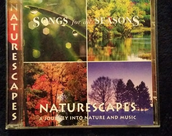 Naturescapes Songs for all Seasons 1996 CD