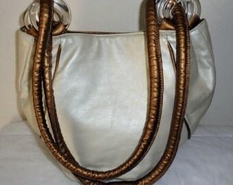 Vintage purse Saddle River  hobo ,satchel, purse ,cross body  bag , city bag, shoulder bag all genuine leather vintage 80s
