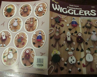 Christmas Ornament Plastic Canvas Patterns Cinnamon Wigglers The Needlecraft Shop 842231 Plastic Canvas Leaflet