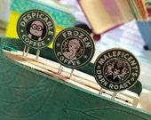 Starbucks Logo Bookmark Clips - Disney - Star Wars - Minion