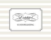 Custom Listing for Dana