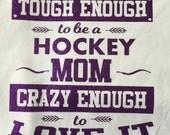 Sports mom hockey football baseball softball soccer wrestling tee vinyl glitter heat press transfer tshirt shirt funny saying