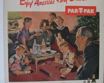 126 Par-T-PaK Ad  - 1952