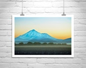 Mt Shasta, Mount Shasta Picture, Mountain Art, Western Landscape, Train Art, Landscape Photography, Modoc, Siskiyou, Lassen, California
