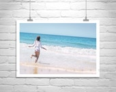 Ocean Picture, Beach Photograph, Seaside, France Beach Art, Ocean Photography, France, Atlantic Ocean Art, Arcachon, Wall Picture, Wall Art