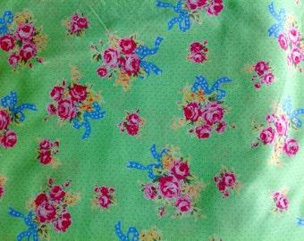 Lecien Flower Sugar Floral Collection - 2 yards Destash