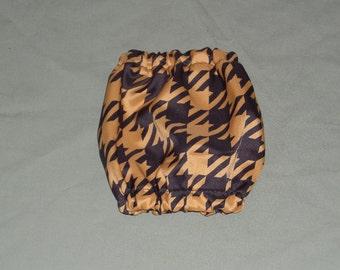 Small Dog Snood Gold Black Houndstooth | Show Dog Snoods | Dog Ear Care | Miniature Poodle Snood | Shih Tzu, Italian greyhound clothing