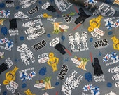 Star Wars Fabric  50 cm by 53 cm or 19.6 by 21 inches
