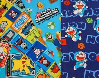 Cartoon Favorite Character Mario Doraemon Thomast and Pokemon (ns01) ©nintendo ©pokemon