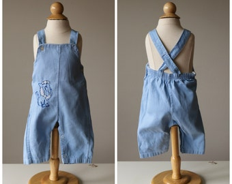 1960s Little Lion Overalls~Size 3 Months