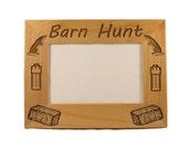 Barn Hunt Photo Frame (4x6 photo) Landscape