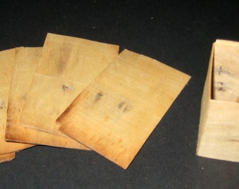 6 Vintage Wooden Seed Starter Boxes for Repurposing