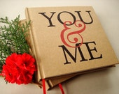 You & Me · Wedding Anniversary Gift · Wedding Anniversary Journal · Paper Anniversary Diary · Anniversary Scrapbook
