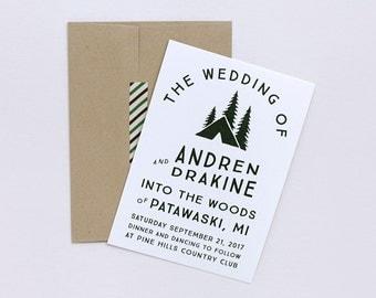 Sample invitation listing