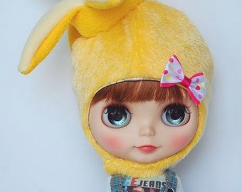 Blythe 3D banana hat