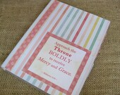 Legacy Prayer Journal, Bound Book, Pastel Stripe with Pink Polka Dot Accents