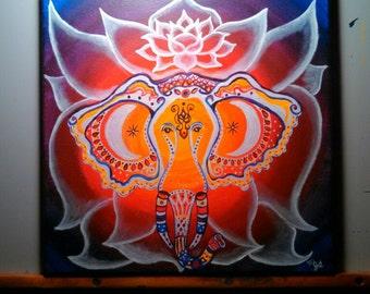 Lunar Ganesha