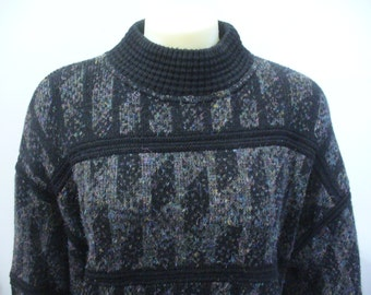 Vintage Italian Abstract Sweater