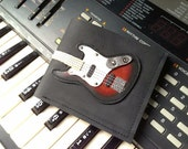 S. A. L. E. 35% Limited Edition Men Wallet Fender Bass Guitar & Sunburst Color
