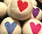 Dryer Balls - Wool dryer Balls - Laundry Balls - Wool Balls for Dryer - Cloth Diaper Laundry - Sustainable Living - Eco Friendly Gift Idea