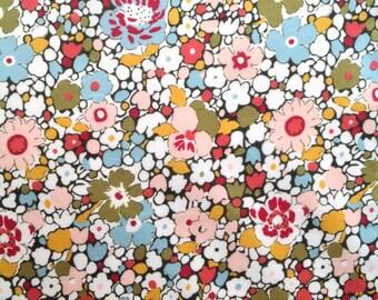 Liberty fabric RARE colour way of Eleanor tana lawn - stash builder 10ins x 13ins