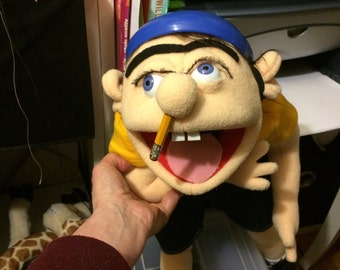 The Large Jeffy Jeffy puppet from Supermariologan youtube sml movie.