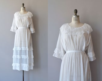 Evangeline dress | vintage 1910s dress | cotton Edwardian dress