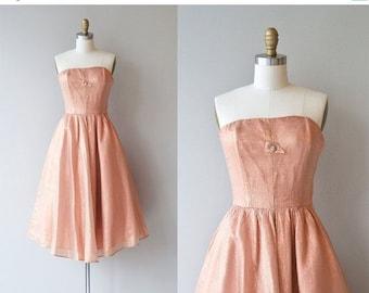 25% OFF.... Sugar Bomb dress   vintage 1950s dress   strapless 50s party dress
