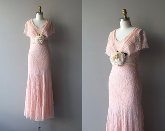 Lovlier Still dress | vintage 30s dress | embroidered 1930s dress