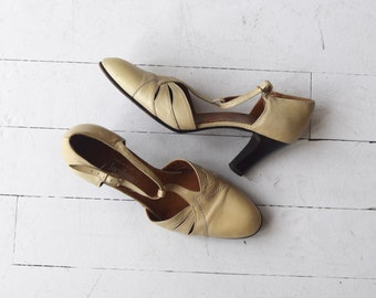 Uptown t-straps | vintage 1970s t-strap heels | 70s mary jane t-strap shoes 6.5