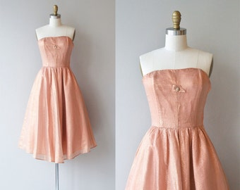 Sugar Bomb dress | vintage 1950s dress | strapless 50s party dress