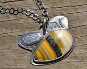 RESERVED Buzzy's necklace.  BEE necklace