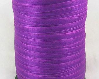 "BULK - Organza Ribbon - 1/4"" thick (6mm) - 500 yards - Dark Orchid"