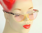 Retro Fab Cat Eye Glasses by Marine USA - Mid Century Women's Eyewear - Free Shipping in US