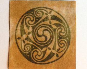 Celtic quilting fabrics