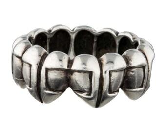 Barry Kieselstein Cord Sterling Silver Heart Ring