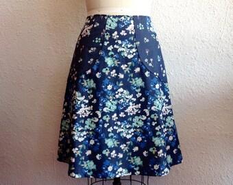 Angelina a-line pocketed skirt Sz 12