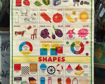 School Chart from India: Colours